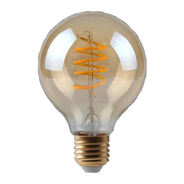 5W Dimmable Helix Filament G100 Gold