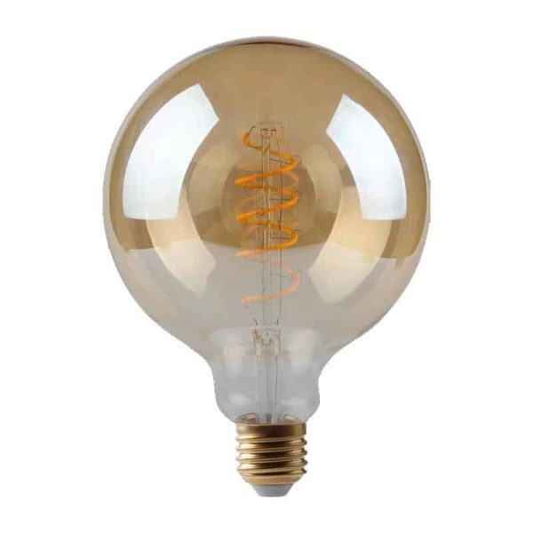 5W Dimmable Helix Filament G125 Gold