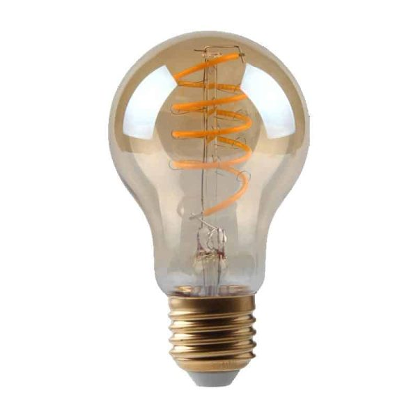 5W Dimmable Helix Filament GLS Gold