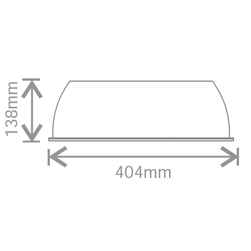 Echo, Opacque Shade 0404x138mm for KHBE150C1, KHBE200C1